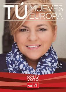 CartelEleccionesEuropeas2014ElenaValenciano